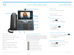 Cisco Phone Model 8961