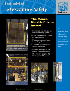 Mezzanine Safety Industrial The Manual MezzNet