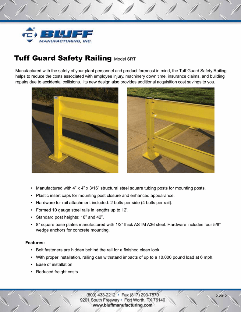 Tuff Guard Safety Railing