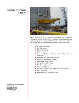 crane heave compensation accumulator