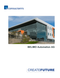FUTURE BELIMO Automation AG