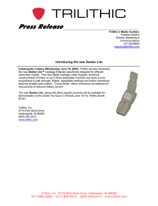 Press  Release  Introducing the new Seeker Lite