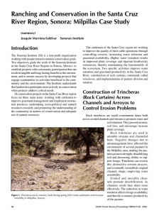 Ranching and Conservation in the Santa Cruz Introduction (summary)