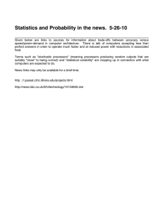 Statistics and Probability in the news.  5-26-10