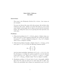 Math 5040-1 Midterm Fall 2008 Instructions: