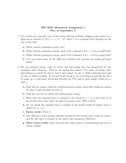 BIO 5910: Homework Assignment 1 Due on September 3