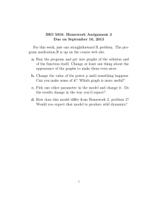 BIO 5910: Homework Assignment 3 Due on September 16, 2013