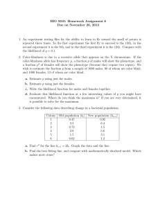 BIO 5910: Homework Assignment 6 Due on November 26, 2013