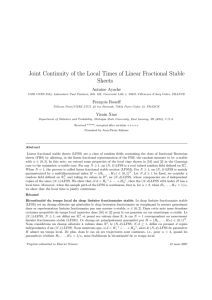 Joint Continuity of the Local Times of Linear Fractional Stable Sheets
