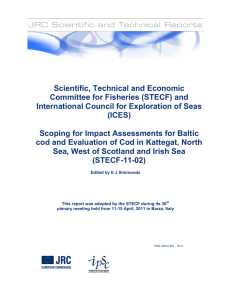 Scientific, Technical and Economic Committee for Fisheries (STECF) and