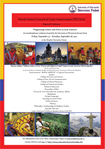 North Central Council of Latin Americanists (NCCLA)