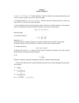 Calculus I Practice Problems 8 y 2