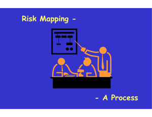 Risk Mapping - - A  Process