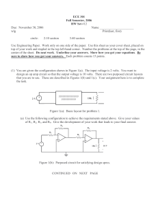 ECE 301 Fall Semester, 2006 HW Set