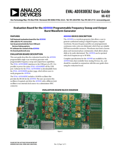 EVAL-AD5930EBZ User Guide UG-822