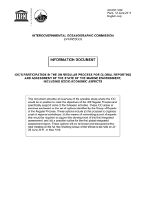 INFORMATION DOCUMENT
