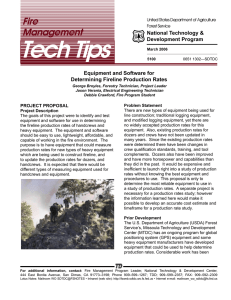 Tech Tips Fire Management