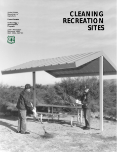 CLEANING RECREATION SITES United States