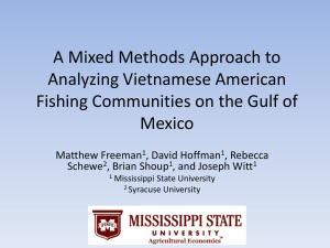 A Mixed Methods Approach to Analyzing Vietnamese American Mexico