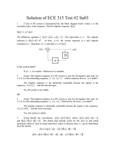 Solution of ECE 315 Test #2 Su03 [ ] [ ]