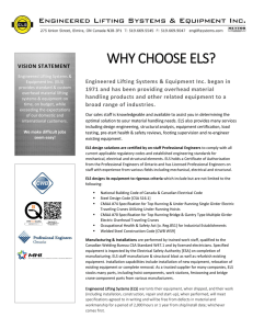 WHY CHOOSE ELS?