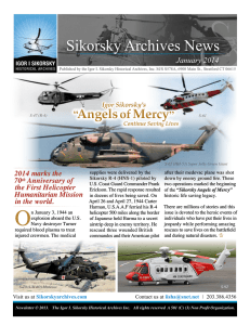 Sikorsky Archives News