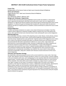 ABSTRACT: 2015 ELAM Institutional Action Project Poster Symposium
