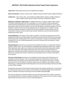 ABSTRACT: 2013 ELAM Institutional Action Project Poster Symposium