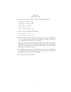 Math 1060 Chapter 6 Review (a) B= 10