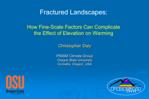 Fractured Landscapes:  How Fine-Scale Factors Can Complicate