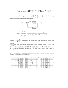 Solution of ECE 316 Test 6 S06 ( ) (