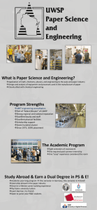 What is Paper Science and Engineering?