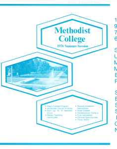 Methodist College 1 6