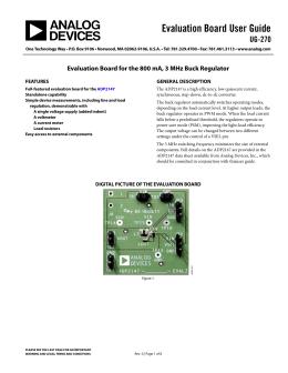 Evaluation Board User Guide UG-270