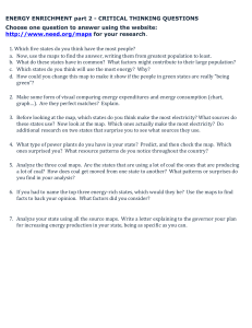 ENERGY ENRICHMENT part 2 - CRITICAL THINKING QUESTIONS