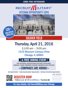 Thursday, April 21, 2016  120 SOLDIER FIELD