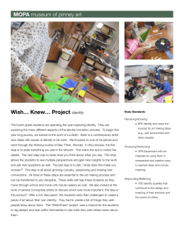 MOPA Wish… Knew… Project  identity