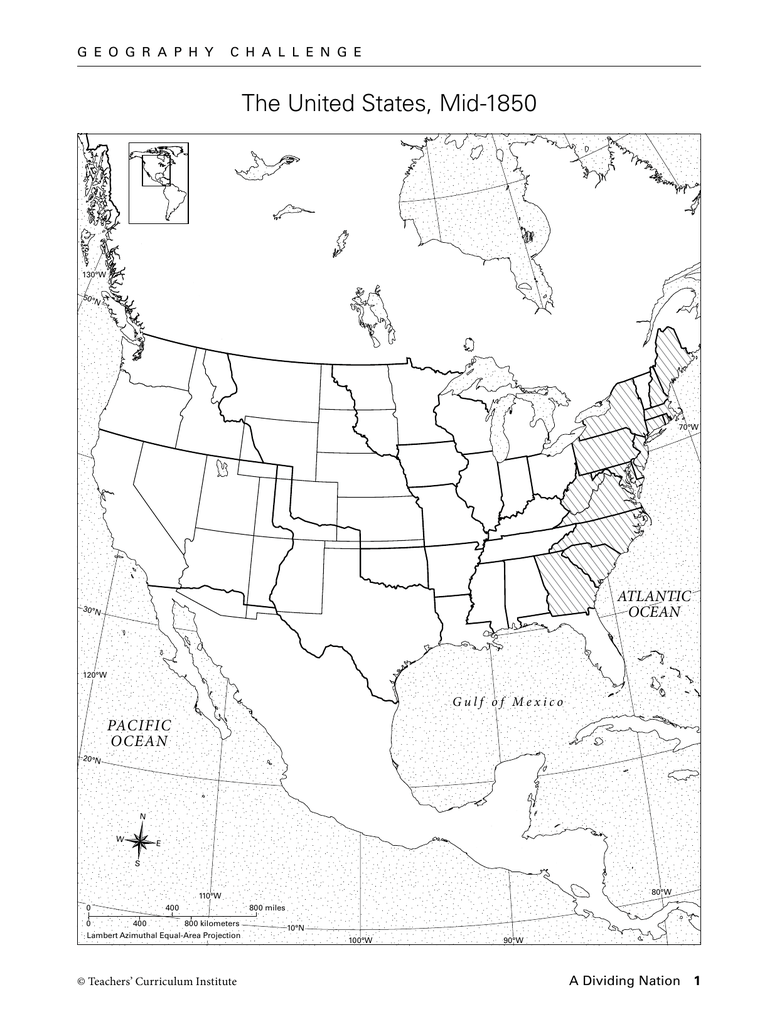 the united states mid 1850 atlantic ocean pacific 1980 Election Map