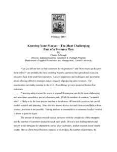 Knowing Your Market – The Most Challenging