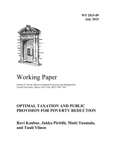 Working Paper WP 2015-09 July 2015