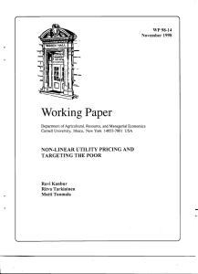 Working Paper WP 98-14 November 1998