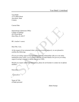 John T Smith Sample Chronological Resume Summary Of Qualifications