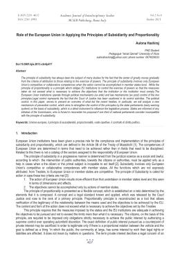 european union principles in cassis de
