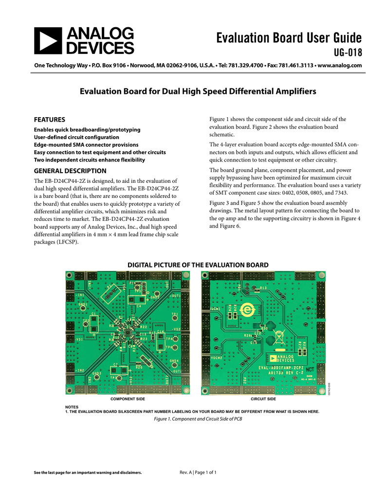 Evaluation Board User Guide Ug 018 Figure 3 Circuit Schematic