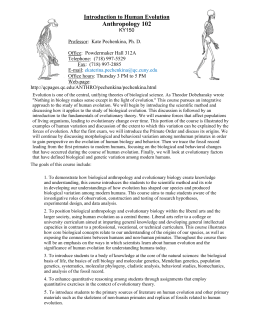 an introduction to the analysis of human evolution An introduction to the evolution and the mythology of human evolution pages 3 words 1,157 view full essay more essays like this: theories of evolution, human evolution mythology, human evolution not sure what i'd do without @kibin - alfredo alvarez, student @ miami university.