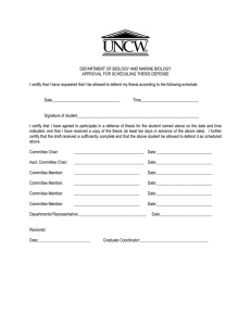 graduate minor thesis submission form ucd