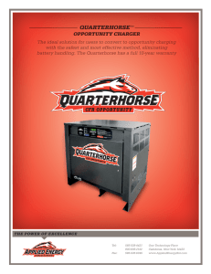 QUARTERHORSE  OPPORTUNITY CHARGER