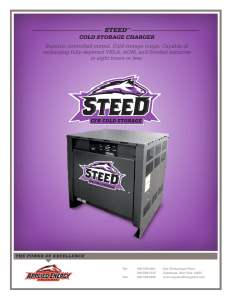 STEED COLD STORAGE CHARGER