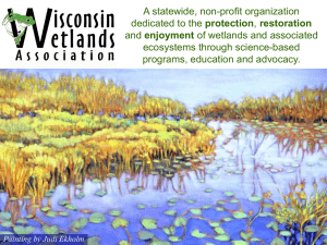 A statewide, non-profit organization protection enjoyment ecosystems through science-based