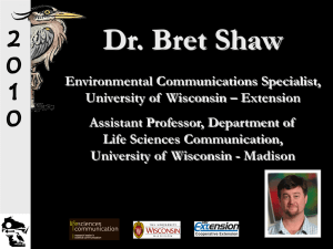 Dr. Bret Shaw
